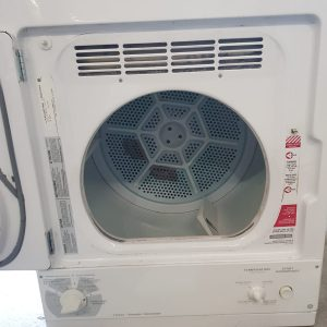 USED Electrical dryer GE SPACEMAKER PCKS443ET1WW