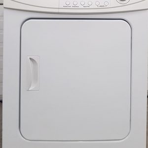 USED Spacemaker ELECTRICAL DRYER MAYTAG MDE2400AZW