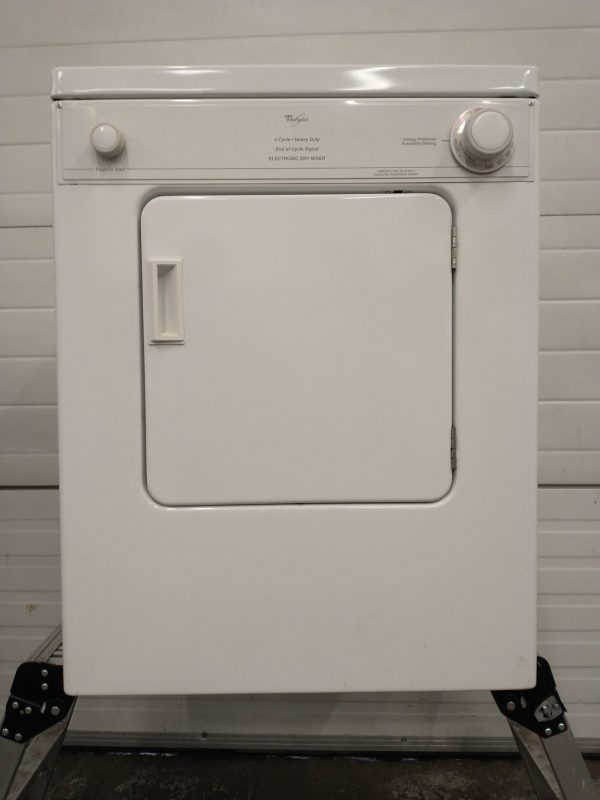 USED ELECTRICAL DRYER 120V - WHIRLPOOL YLDR3822DQ3