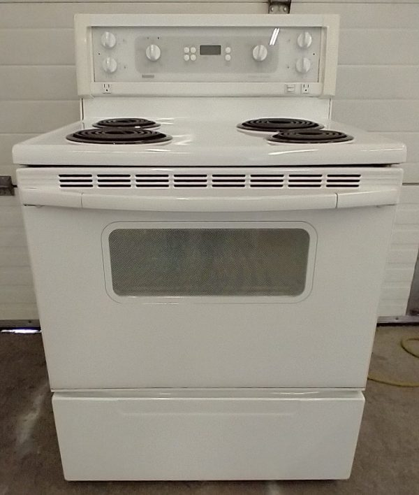 USED ELECTRICAL STOVE - KENMORE C880.62593960
