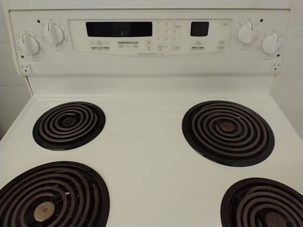 USED ELECTRICAL STOVE - KITCHENAID YKERS507HW2