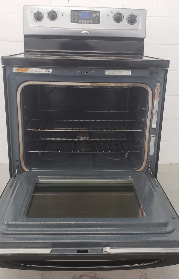 USED ELECTRIC STOVE WHIRLPOOL WERP4101SS1