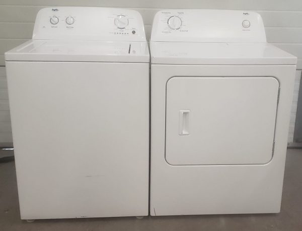 USED SET INGLIS - WASHER ITW4671EW0 AND DRYER YIED4671EW0