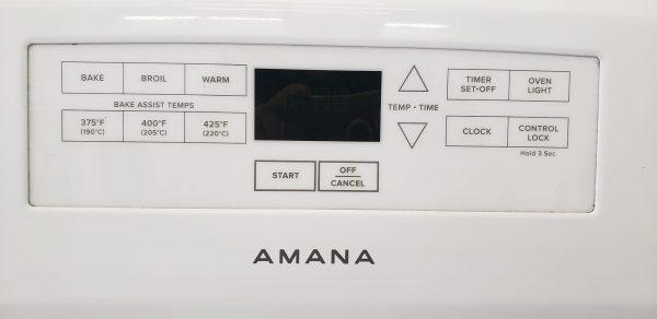 USED ELECTRICAL STOVE - AMANA YACR4303MFW1