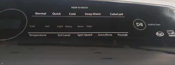 USED WASHING MACHINE - WHIRLPOOL WTW7000DW0