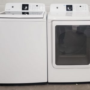 USED SET KENMORE WASHER 592-29212 AND DRYER 592-69212
