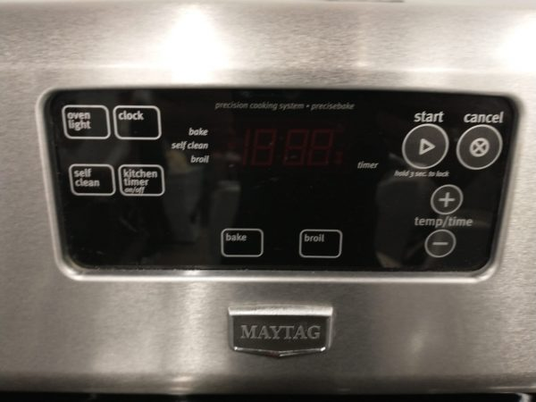 ELECTRICAL STOVE - MAYTAG YMER7660WS2