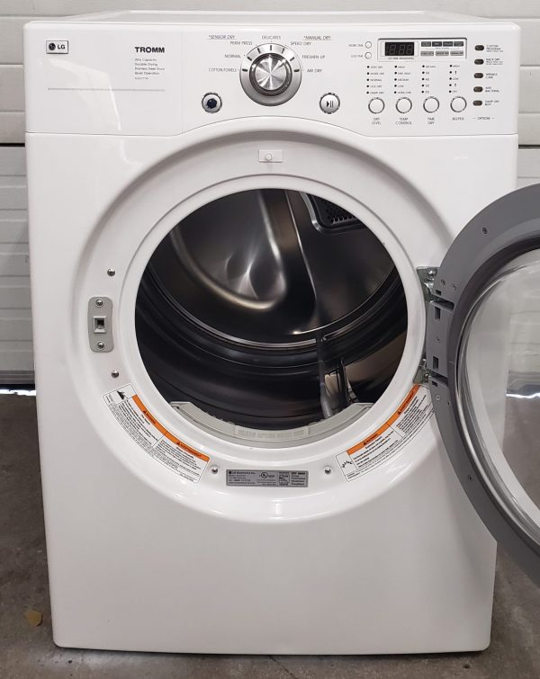 USED ELECTRICAL DRYER - LG DLE3777W