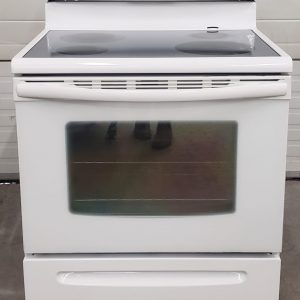 USED ELECTRICAL STOVE - FRIGIDAIRE CFEF372ES2