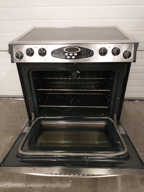 USED SLIDE IN ELECTRICAL STOVE MAYTAG MES5875BCS