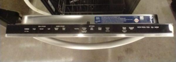 USED DISHWASHER - KITCHENAID KDTE104DSS0
