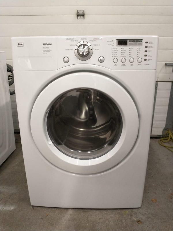 USED ELECTRICAL DRYER LG DLE3777W