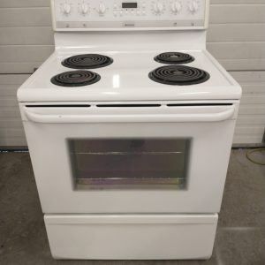 USED ELECTRICAL STOVE FRIGIDAIRE PFEF318AS4