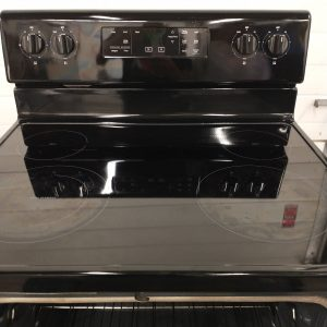 USED ELECTRICAL STOVE WHIRLPOOL YWFE510S0HB1 1