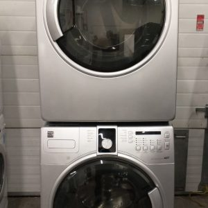 USED SET KENMORE WASHER 592-49327 & DRYER 592-8905701