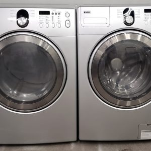 USED SET KENMORE WASHER 592-491170 AND DRYER 592-891070