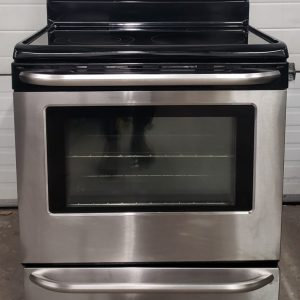 USED ELECTRICAL STOVE FRIGIDAIRE BKEF3048LSH