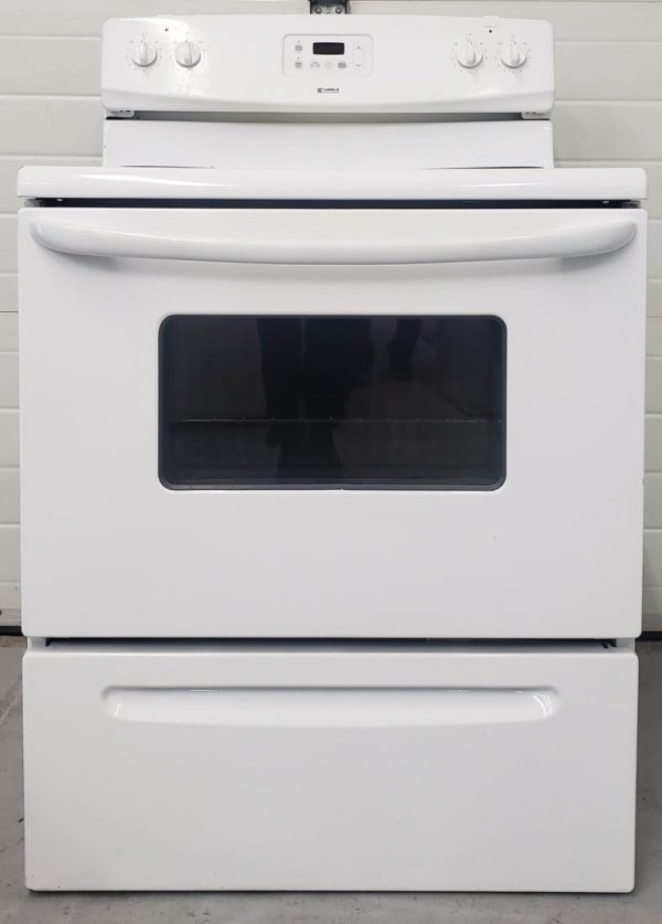 USED ELECTRICAL STOVE KENMORE C970-501021
