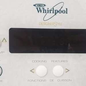 USED ELECTRICAL STOVE WHIRLPOOL WCP36800 1 1