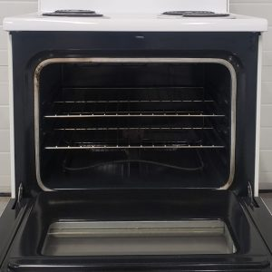 USED ELECTRICAL STOVE WHIRLPOOL WCP36800 2 1