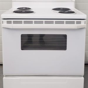 USED ELECTRICAL STOVE WHIRLPOOL WCP36800