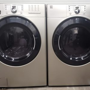 USED SET KENMORE WASHER 796.40277900 & DRYER 796.80277900