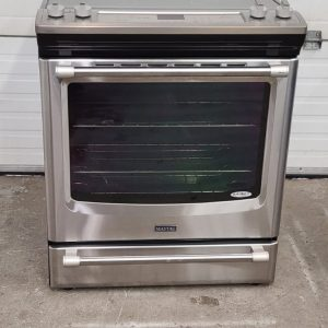 USED SLIDE IN ELECTRICAL STOVE MAYTAG YMES8880DS0