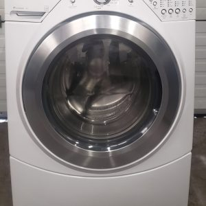 USED WASHING MACHINE WHIRLPOOL DUET WFW9450WW00